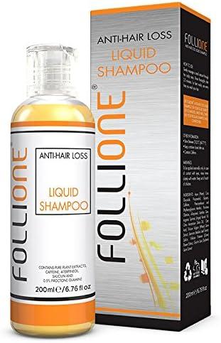 Champú anticaída para hombre y mujer - Dermatológicamente testado – Hace crecer el pelo, detiene la caída - Estimula el crecimiento - Tratamiento ...