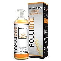 FolliOne Shampoo Anticaduta Professionale Uomo/Donna 200 ML | Trattamento Anti-Età Privo di Solfati, Siliconi, Parabeni, Formaldeide e Colori o Profumi Sintetici | Contiene Caffeina
