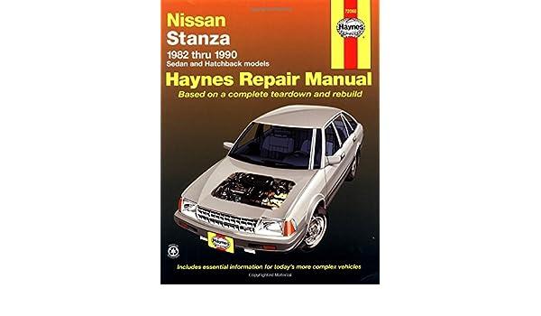 Nissan/Datsun Stanza 1982-90 Sedan and Hatchback Automotive Repair Manual Haynes Manuals: Amazon.es: Peter G. Strasman, J. H. Haynes: Libros en idiomas ...