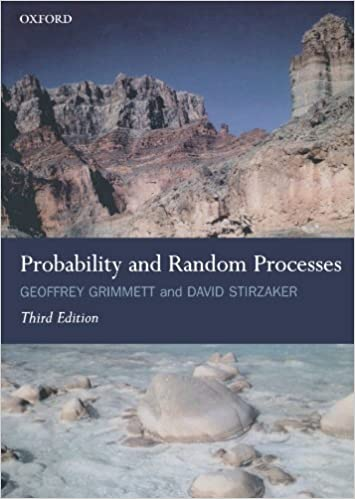 Amazon Com Probability And Random Processes 9780198572220