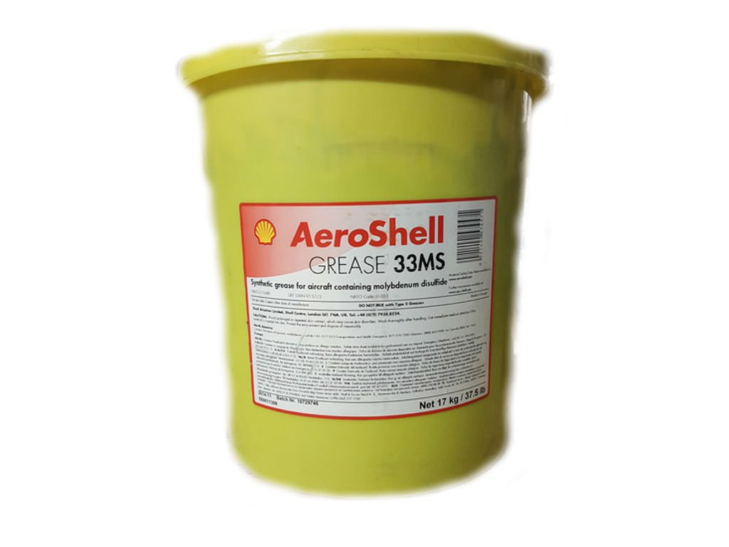 Aeroshell - 33MS/64 Grease 37.5 Pound Container MIL-21164D by AeroShell