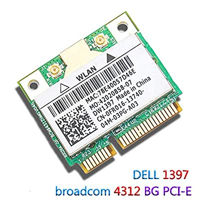 Dell Latitude E5400 Wireless WLAN 1397 Half MiniCard Driver for Windows Mac