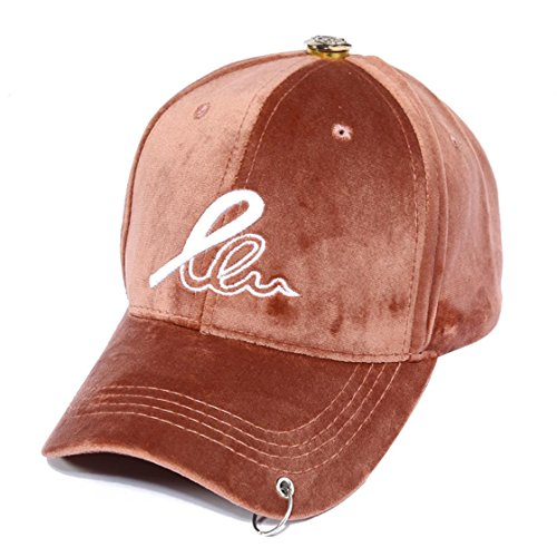 Winter New Fashion Warm Cap Couple Suede Baseball Cap Personalized Hoop Hat Pink (56-60cm) (New Suede Newsboy Hat)