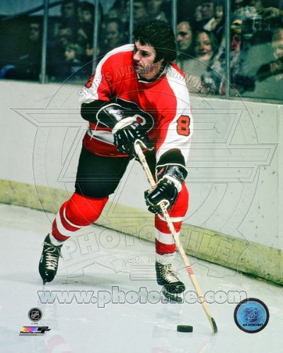 Dave Schultz Philadelphia Flyers NHL Action Photo 8x10