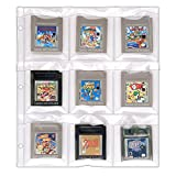 StoreSMART - 9-Pocket Binder Page for Game Boy Cartridges - 50-Pack - SPT1823F-50