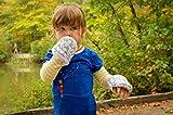 Handsocks Plushy Stay On Strap-Free No-Scratch