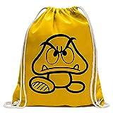 Gumba opponent Bowser Fun sport Gymbag shopping cotton drawstring