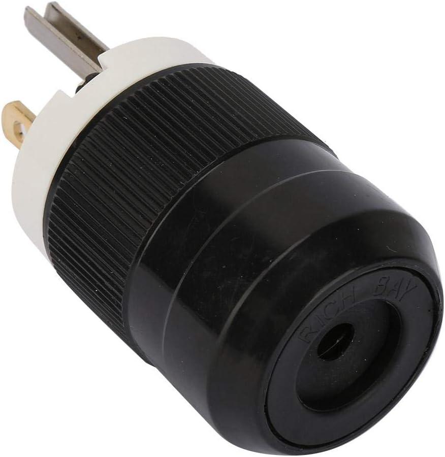20A 125V Power Plug Waterproof Industrial Grade 3 Poles Power Plug Connector 125V US 3 Holes 50-60HZ 15A 20A optional