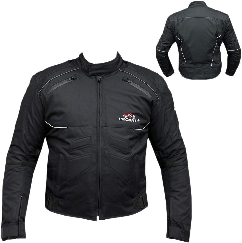 Proanti Motorradjacke Biker Jacke Sport Motorrad Textil Jacke Sport Freizeit