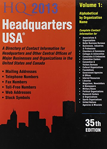 HEADQUARTERS USA 2015, 37TH ED.