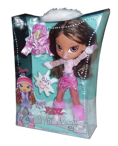 Exclusive Bratz Big Kidz Winter Vacation 14 Inch Doll - Yasmin in Winter Outfit Plus Jacket - Exclusive Bratz