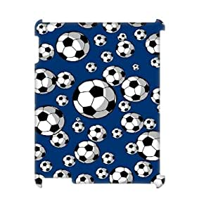 wugdiy Brand New Phone 3D Case for iPad2,3,4 with diy Soccer