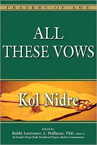 All These Vows: Kol Nidre (Prayers of Awe): Amazon.es ...