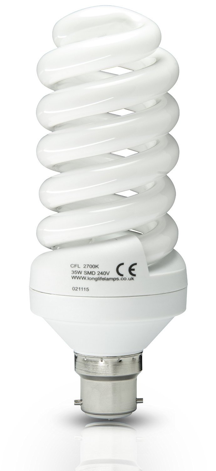 Daylight Energy Saving Light Bulb B22 iBoutique® 30W Bayonet
