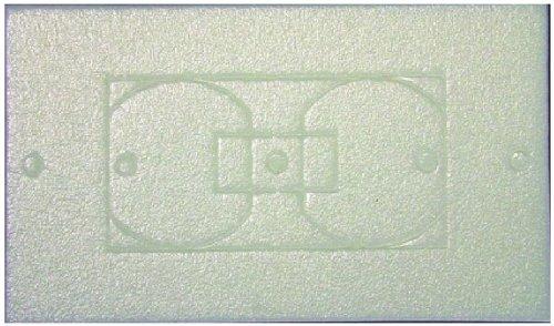 L.H. Dottie WPI100 Wall Plate Insulation Gasket, 100-Pack by L.H. Dottie