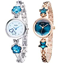 Addic Best Selling Combo of Two Lovely Women's Watches (Supe