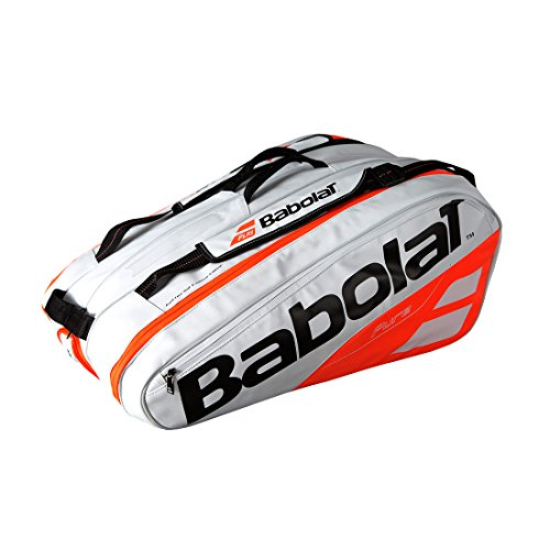 Babolat - Pure 12 Pack Tennis Bag White and Red - (B751170-149) ()