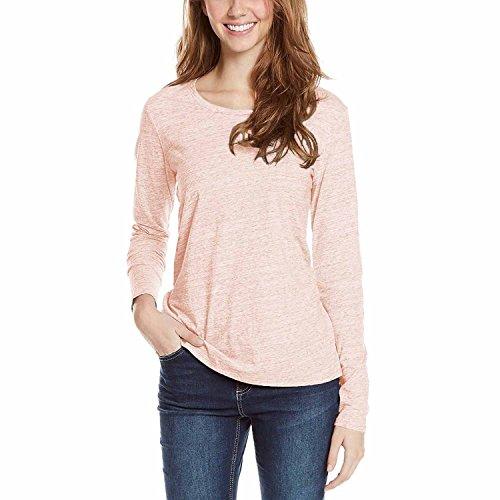 Buffalo David Bitton Ladies' Long Sleeve Tee (Light Pink, - Prime Outlet Buffalo