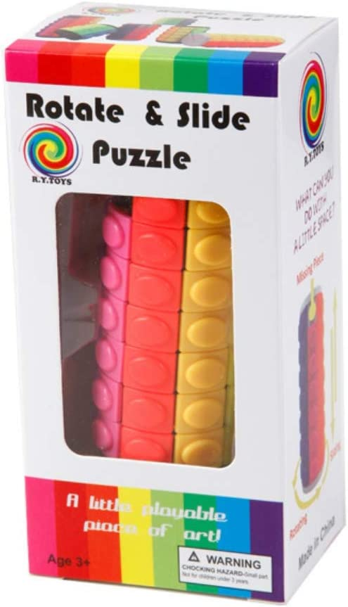 Cylindrical Magic Cube Speed Puzzle Cube Toys for Boys and Girls Round Cube Twisty Puzzle Game for Kids Brain Intellectual Development Toys
