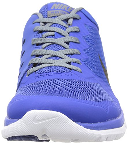 Nike Herren Flex 2015 RN Sport & Outdoorschuhe mehrfarbig (Game Royal/Black-Cl Grey-White)
