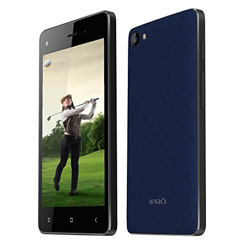 IPRO Wave 4.0 II Dual SIM Unlcoked Smartphone for International Travel, 4-Inch Touchscreen 4GB ROM Android 5.1 Phones with Google Play, Wifi, Hotspots - US 3G WCDMA No Contract (Blue)