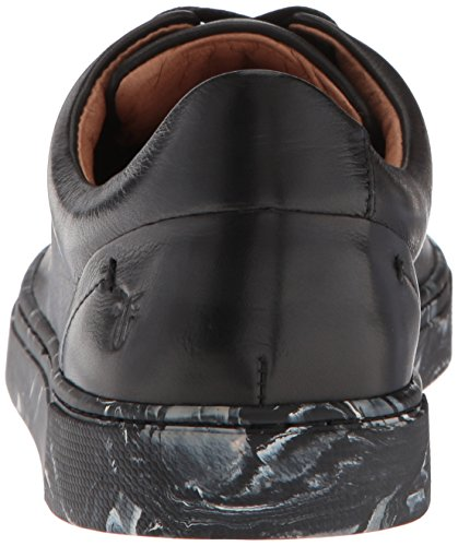 Frye Women's IVY Low Lace Sneaker Metallic Black 9823Z2yu