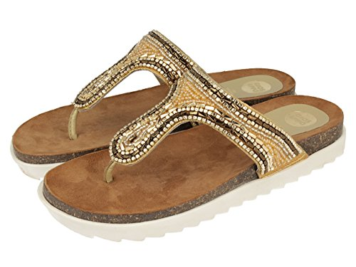 Gioseppo VELOGNY - Sandalias para mujer Oro