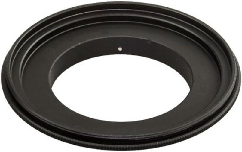AKOAK 58mm Diameter Filter Thread Lens Macro Reverse Ring Adapter for Canon EOS Camera