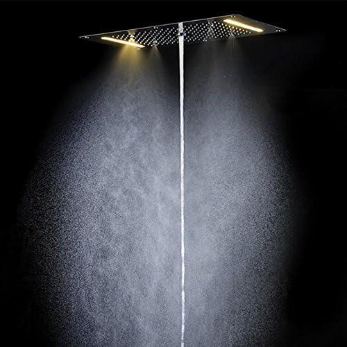 hm 5 funciones latón mezclador combinado de ducha con columna de ...