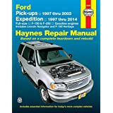 Ford Pick-ups 1997 thru 2003 & Expedition 1997 thru 2014: Full-size, F-150 & F-250, Gasoline Engines - Includes Lincoln Navigator and F-150 Heritage (Haynes Repair Manual)