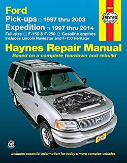 Amazon chilton repair manual ford 1997 2003 pickup 1997 2014 ford pick ups 1997 thru 2003 expedition 1997 thru 2014 full size sciox Images