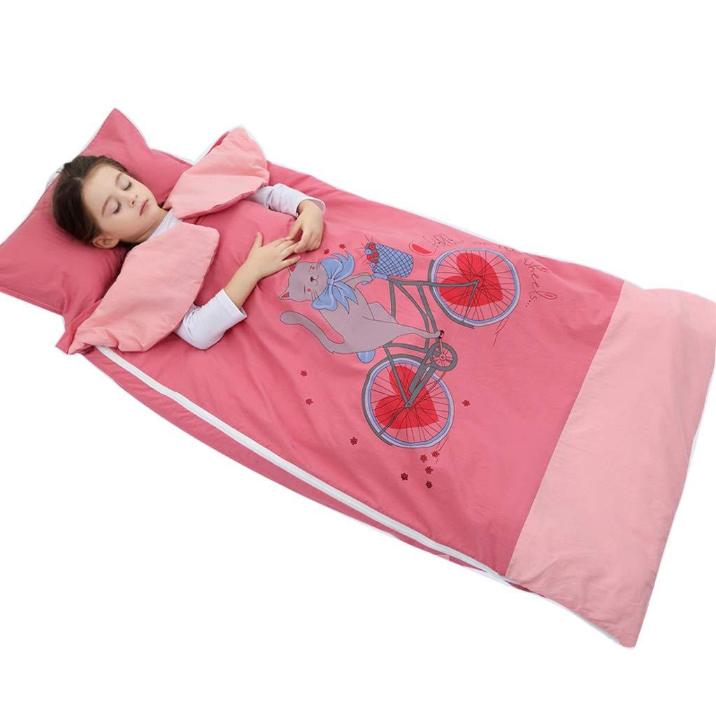 AUGAUST Babyschlafsack Baumwolle Frühling und Herbst Baby Anti-Kick Abnehmbar und waschbar (Farbe   B, größe   100  180cm) B07KXR1GNC Mumienschlafscke Primäre Qualität