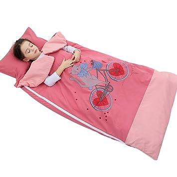Wolaoma Saco de Dormir para bebés Algodón Primavera y otoño Bebé antipatea Desmontable Extraíble y Lavable (Color : B, Tamaño : 100 * 180cm): Amazon.es: ...