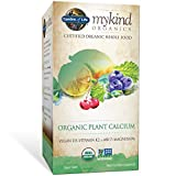 Cheap Garden of Life mykind Organic Plant Calcium – Vegan Whole Food Supplement with D3 and K2, Gluten Free, 90 Tablets