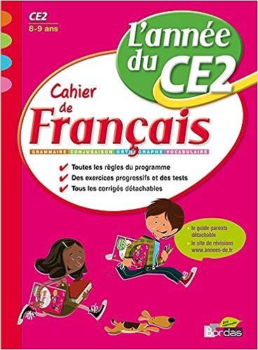 Download Online Cahiers de L'Année de - Français CE2 pdf, epub