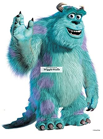11 INCH James P. u0026quot;Sulleyu0026quot; Sullivan Monsters Inc University Removable Wall Decal  sc 1 st  Amazon.com & Amazon.com: 11 INCH James P.