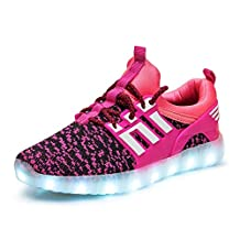 LED Light Up Shoes Flashing Sneakers Boys & Girls & Kids & Toddlers for Christmas Halloween Gift