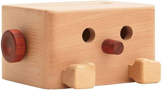 WJMW Caja de Dibujo de Papel de Madera Maciza Arreglo de Caja de Toallas Creativas Caja de Dibujo de Sala de Estar: Amazon.es: Juguetes y juegos