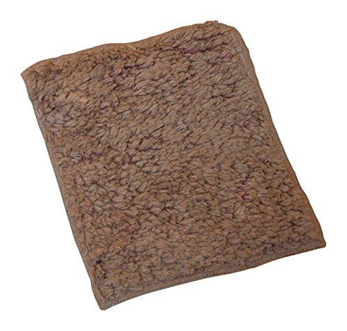 Janey Lynn 's Designs Shrubbie Wash Cloth/Scour Pad ブラウン 50-6200 B0166MRPBM  リンタンタン(Rin Tan Tan)