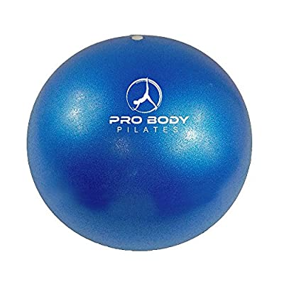 Mini Exercise ball - Premium 9-Inch Stability Ball for Pilates, Yoga, Barre, Training and Physical Therapy