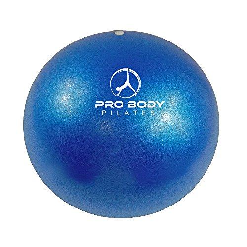 probody-pilates-blue-mini-exercise-ball-premium-9-inch-stability-ball-for-pilates-yoga-training-and-