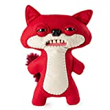 "Fugglers 20100640-6046460 Funny Ugly Monster, Suspicious Fox Red Plush Creature Teeth, 9"", Multicolor"