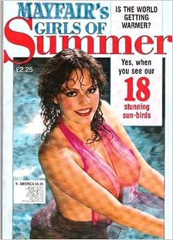mayfair girls of summer magazine number 3 tony shiletto