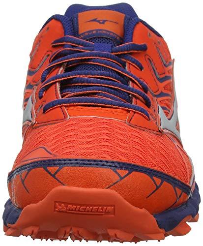Running 04 Silver Mizuno Cherrytomato Blue Wave de Estate para 4 Rojo Hombre Hayate Zapatillas wvUvqXO