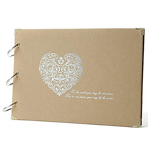 Photo Book Guest Book: Wedding Photo Guest Book: Amazon.com