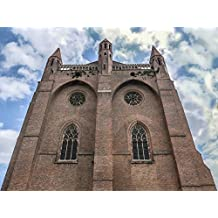 LAMINATED POSTER Sky France Clouds Building Blue Castle Carcasone Poster Print 24 x 36