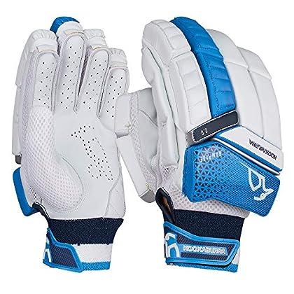 Image of KOOKABURRA 2019 Rampage 2.0 Cricket Batting Gloves White/Blue