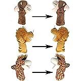 JOYIN Animal Friends Deluxe Kids Hand Puppets