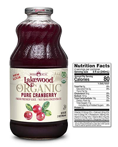 Lakewood Organic Pure Cranberry Juice, 32 Ounce Bottle (Fruit Juice Pack of 6) by Lakewood (Image #7)