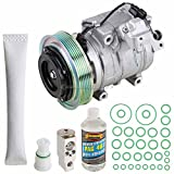 2012 Acura TSX A/C Compressors & Components - For Acura TL & TSX AC Compressor w/A/C Repair Kit - BuyAutoParts 60-81535RK NEW